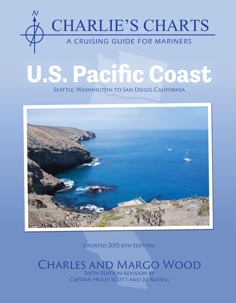 Captain's-Nautical-Supplies-Charlie's-Charts-U.S.-Pacific-Coast-Margo-Wood