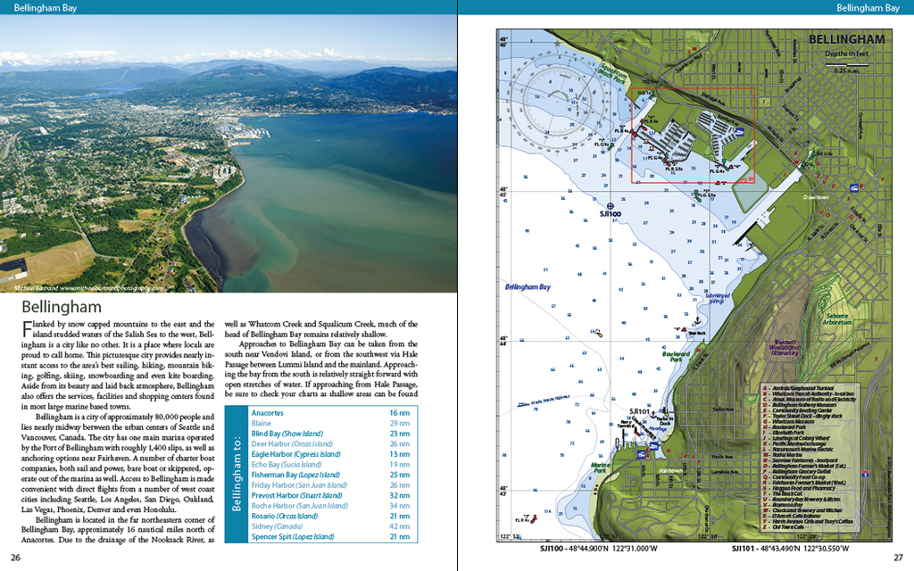 San Juan Islands A Boaters Guidebook By Heather Bansmer Shawn - Map us laatitude san juan