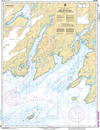 CHS Print-on-Demand Charts Canadian Waters-4830: Great Bay de lEau and Approaches/et les approches, CHS POD Chart-CHS4830