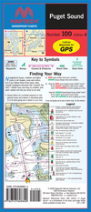 Captain's-Nautical-Supplies-Maptech-Waterproof-Chart-Puget-Sound