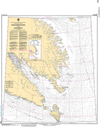 CHS Print-on-Demand Charts Canadian Waters-7050: Resolution Island to/€ Cape Mercy, CHS POD Chart-CHS7050