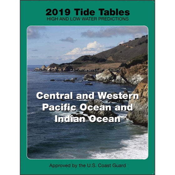 2019 Tide Tables for the Central and Western Pacific Ocean and Indian Ocean