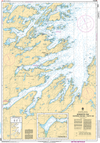 CHS Print-on-Demand Charts Canadian Waters-4855: Bonavista Bay: Southern Portion / Partie sud, CHS POD Chart-CHS4855