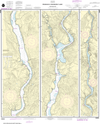 NOAA Chart 18553: Franklin D Roosevelt Lake - Northern Part