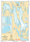 CHS Print-on-Demand Charts Canadian Waters-6506: Lake Manitoba / Lac Manitoba (Northern Portion / Partie nord), CHS POD Chart-CHS6506