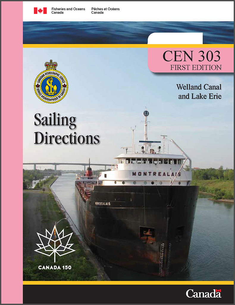 Sailing Directions CEN303E: Welland Canal and Lake Erie