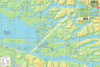 Broughton Archipelago and West Johnstone Strait Route Planning Map