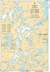CHS Print-on-Demand Charts Canadian Waters-6285: Eaglenest Lake to/€ Whitedog Dam, CHS POD Chart-CHS6285