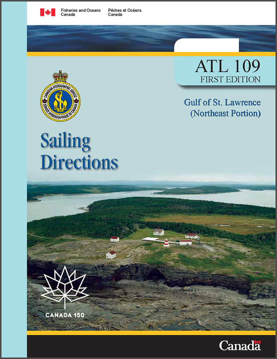 Sailing Directions ATL109E: Gulf of St. Lawrence