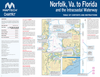 Captain's-Nautical-Supplies-MapTech-ChartKit-Region6-Norfolk-Virginia-Florida-Intracoastal-Waterway-P2