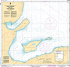 CHS Print-on-Demand Charts Canadian Waters-4654: Lark Harbour and/et York Harbour (Bay of Islands), CHS POD Chart-CHS4654