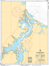CHS Print-on-Demand Charts Canadian Waters-4446: Antigonish Harbour, CHS POD Chart-CHS4446