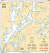 CHS Print-on-Demand Charts Canadian Waters-6023: Lake of Bays, CHS POD Chart-CHS6023