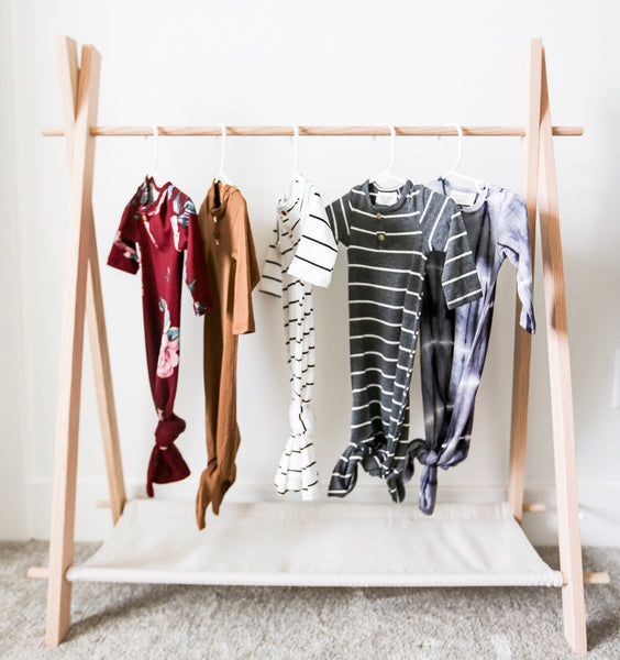 Montessori Toddler Clothing Rack