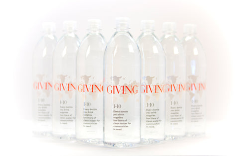 Giving Water - 1L (Case of 12) ** 20% OFF **