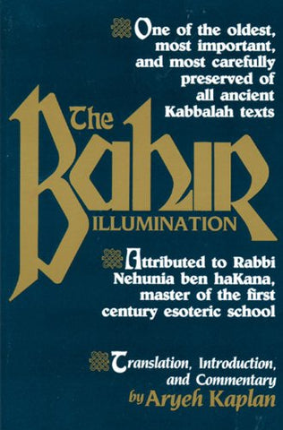 Sefer Bahir (The Bahir) (EN, SC)