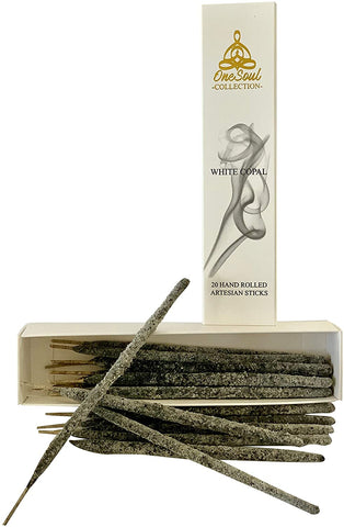 OneSoul White Copal Incense Sticks