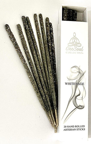 OneSoul White Sage Incense Sticks