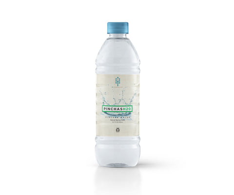 Pinchas Water - 700 ml 2017 BPA Free 100% RPET (Case of 12)