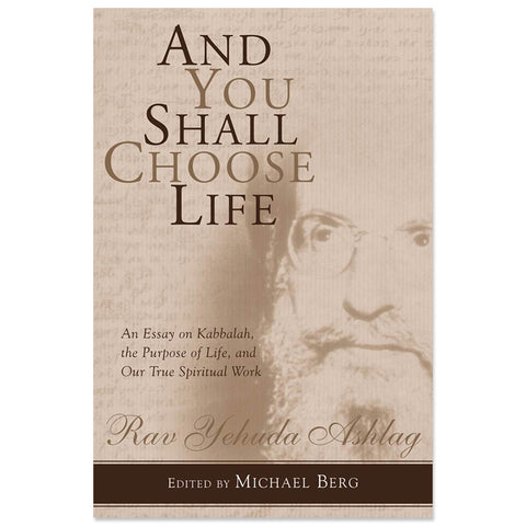 And You Shall Choose Life (English, Hardcover)