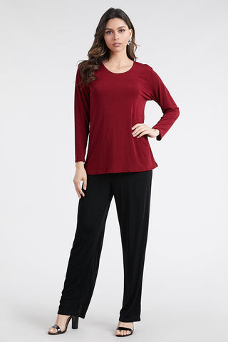 Stretchy Big Top Long Sleeve - 100BN-L