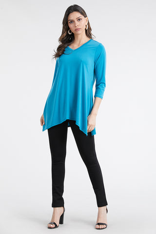 HIT V-Neck Binding Top -313HT-Q