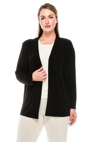 Jostar Acetate Drape Jacket Long Sleeve, Plus - 400AY-LX