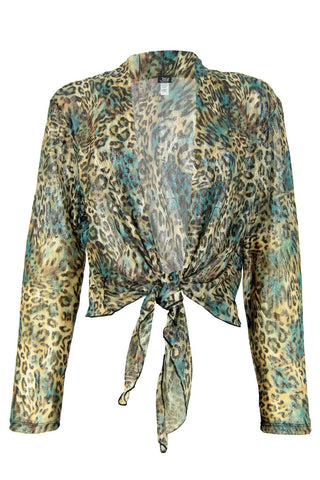 Jostar Lace Long Sleeve Bolero Long Sleeve, Print - 422LA-LP