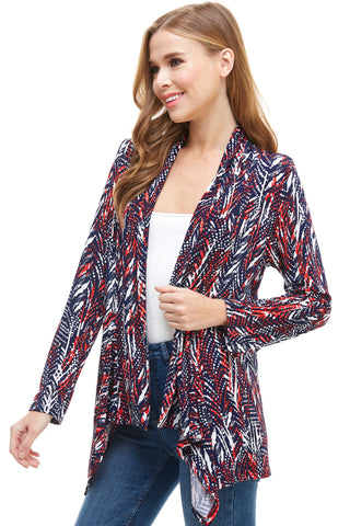 BNS Print Mid Cut Jacket -428BN-LP-W247