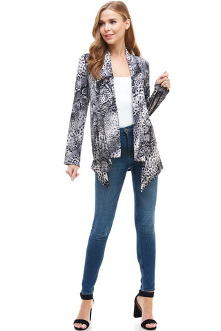 BNS Print Mid Cut Jacket -428BN-LP-W248