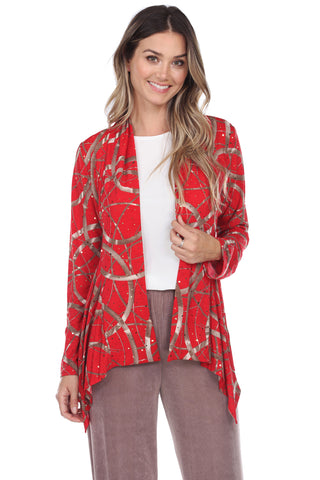 Glitter Mid Cut Jacket-428GL-LP-G008
