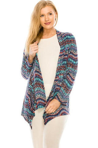 Jostar HIT Mid-cut Jacket Long Sleeve Print, Plus size - 428HT-LXP-W191