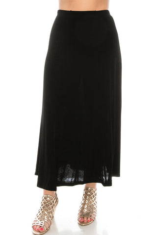 Acetate Flared Skirt - 602AY