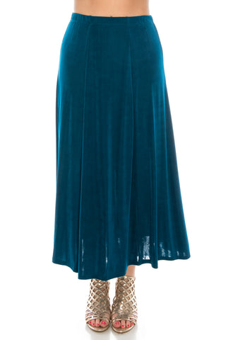 Jostar Acetate Flared Skirt Plus - 602AY-X