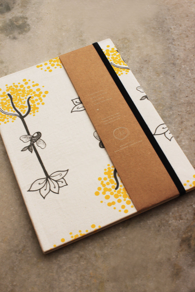 Roots and Wings Notebook 18 x 25 cm