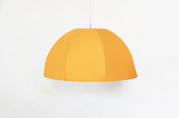 Inside Out Yellow Dome Pendant