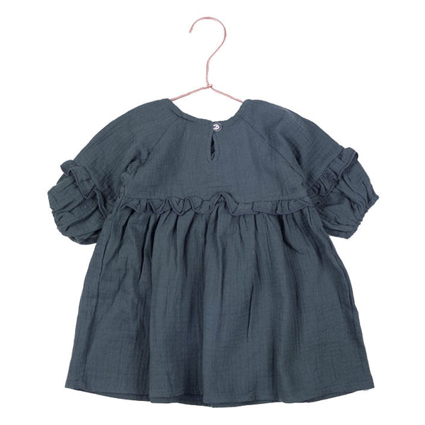 Carmen Cotton Dress/Top -Teal