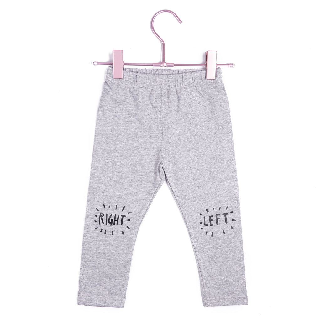 Copy of Left & Right Leggings - Grey