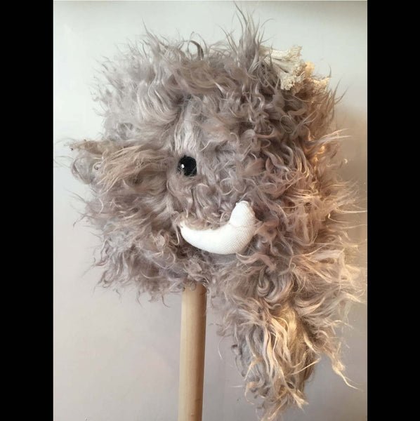 Wooly Mammoth Hobby Horse