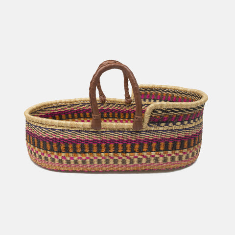 Wildflower Moses Basket