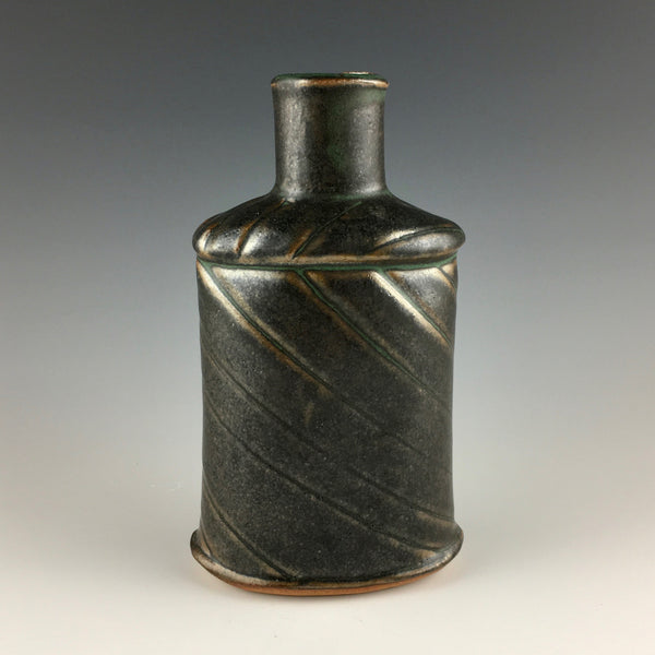 Laurie Landry stoneware bottle