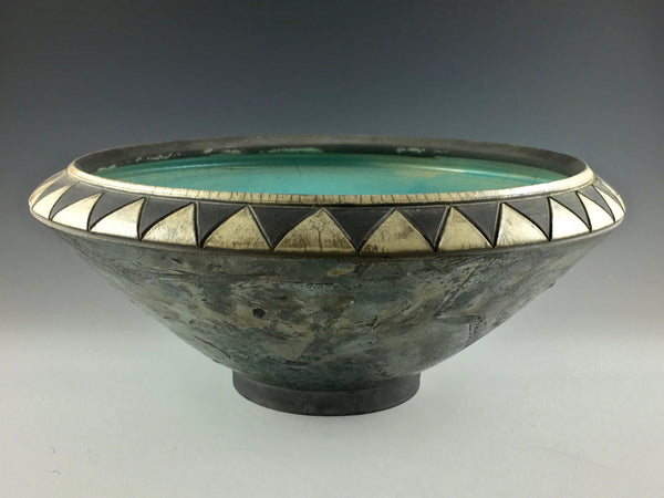 Steve Hemingway large decorative bowl