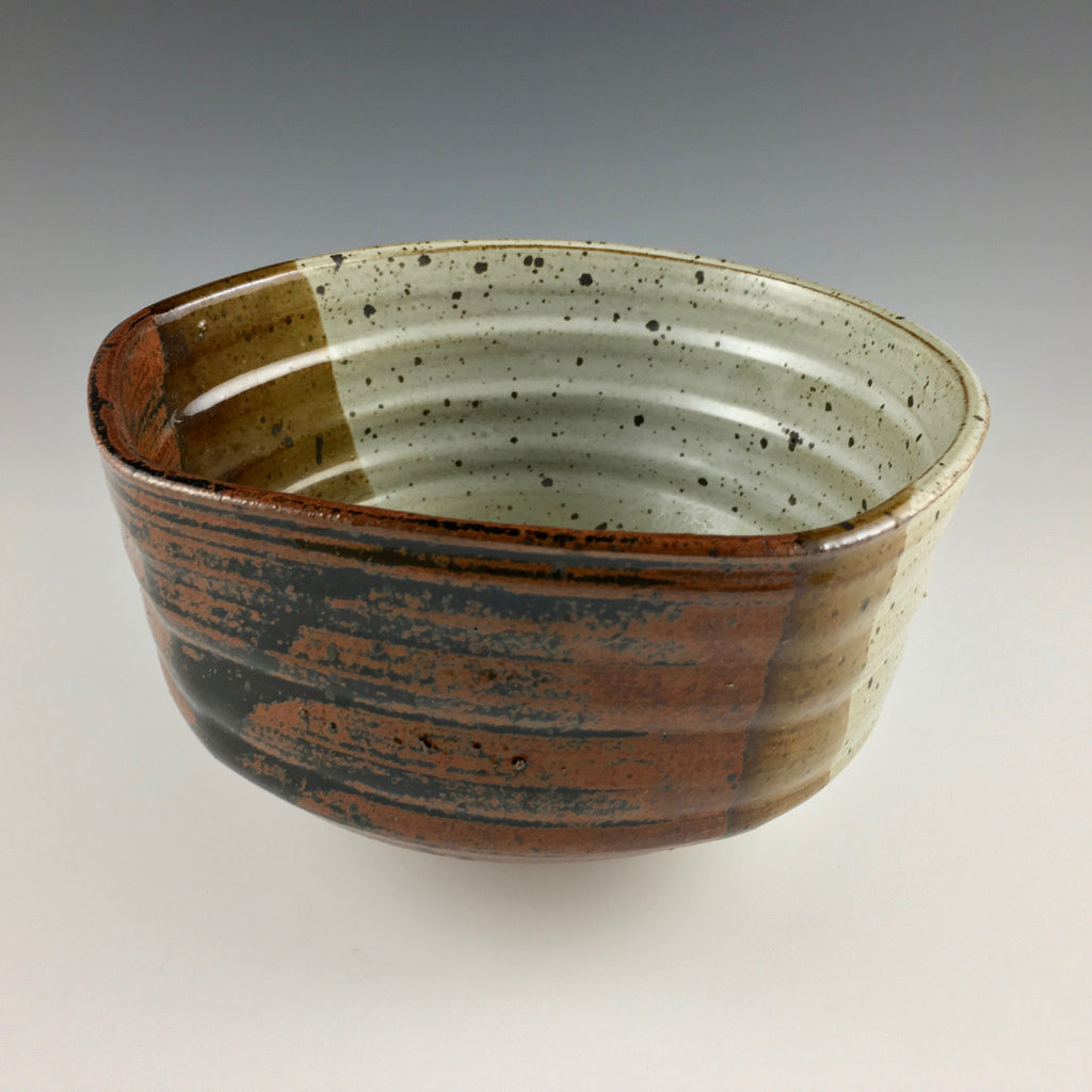 Kenneth Olson stoneware medium bowl