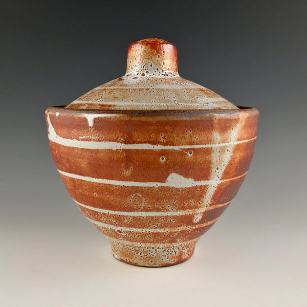 Joe Singewald covered jar