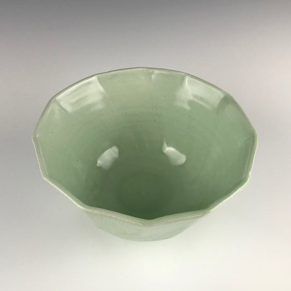 Janel Jacobson porcelain serving bowl