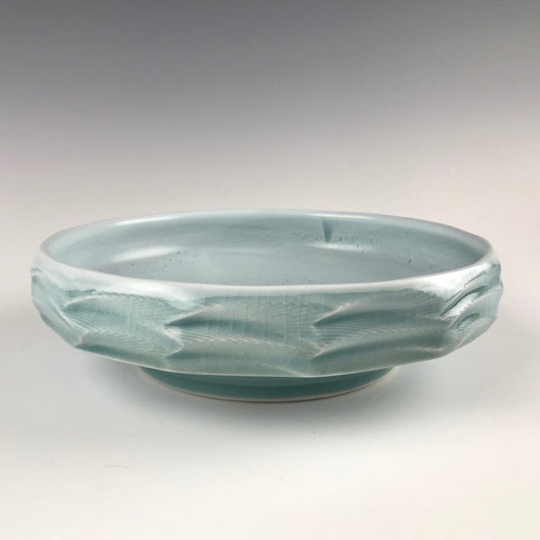 Janel Jacobson serving bowl