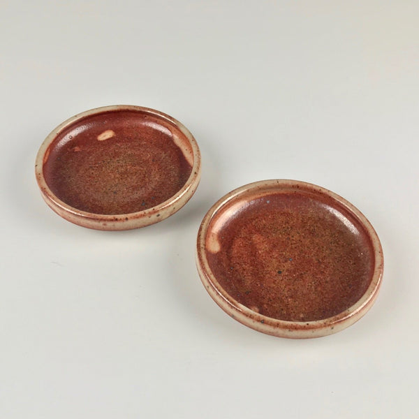 Janel Jacobson sauce dishes, set of two