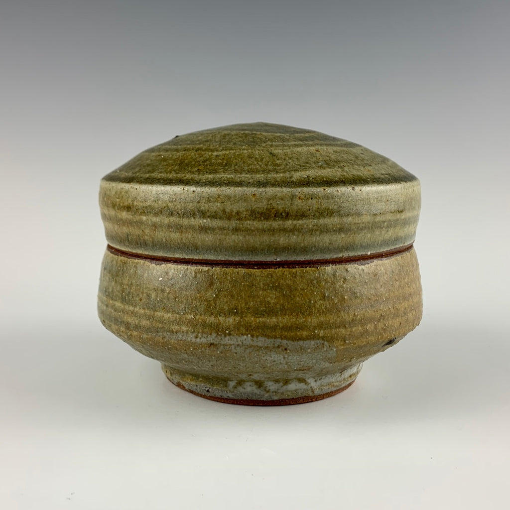 Warren MacKenzie lidded box, unsigned