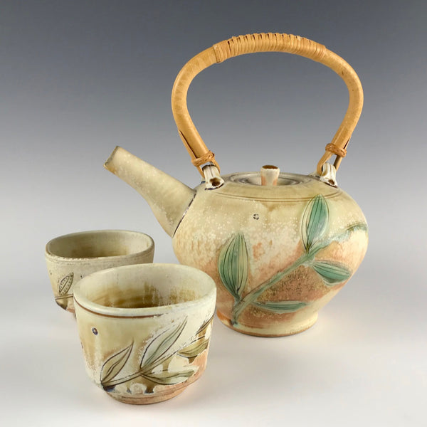 Richard Hensley porcelain tea set