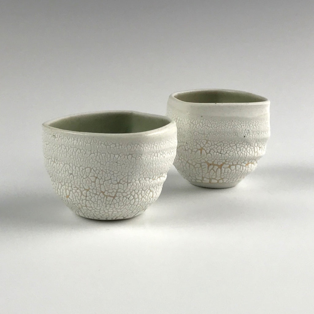 Monica Rudquist sake cups, set of two